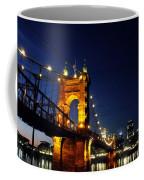 Cincinnati In Lights Coffee Mug