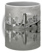 Cincinnati Monochrome Coffee Mug