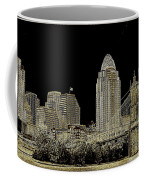 The Queen City Cincinnati Ohio Coffee Mug