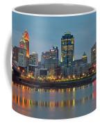 Cincinnati On The Riverfront Coffee Mug
