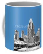 Cincinnati Skyline 1 - Slate Coffee Mug
