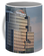 Cincinnati Skyline At Sunset Form The Top Of Mount Adams 3 Coffee Mug