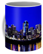 Cincinnati Skyline Dreams 2 Coffee Mug by Mel Steinhauer