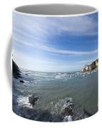 Cinque Terre And The Sea Coffee Mug