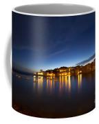 Cinque Terre At Night Coffee Mug