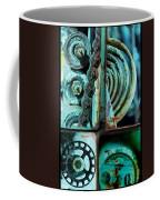 Circle Collage In Blue Coffee Mug