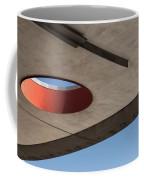 Circle Down  Coffee Mug