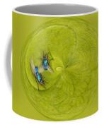 Circle Of Flies Coffee Mug by Jean Noren