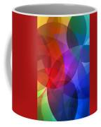 Circles In Colorful Abstract Coffee Mug