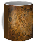Circles Of Gold Coffee Mug