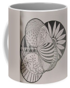 Circles Of Zen Tangle Coffee Mug