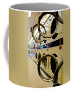 Circular Doors On Laundromat Washing Machines Coffee Mug