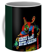 Circus Circus Sign Vegas Coffee Mug