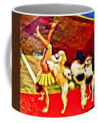 Circus Dog Act Coffee Mug