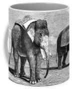 Circus Elephants, 1884 Coffee Mug