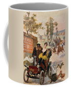 Circus Star Kidnapped Wilhio S Poster For De Dion Bouton Cars Coffee Mug