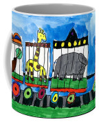 Circus Train Coffee Mug