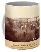 Circus Train Wreck, 1896 Coffee Mug