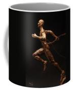 Olympic Runner Citius Altius Fortius  Coffee Mug