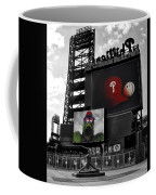 Citizens Bank Park Philadelphia Coffee Mug by Bill Cannon
