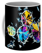 Citric Acid Crystals In Polarized Light Coffee Mug