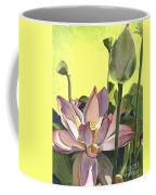 Citron Lotus 2 Coffee Mug by Debbie DeWitt