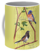 Citron Songbirds 1 Coffee Mug by Debbie DeWitt