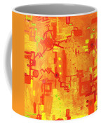 Citrus Circuitry Coffee Mug