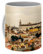 City And Cathedral Lisbon Portugal Coffee Mug