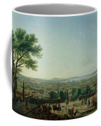 City And Port Of Toulon, 1756 Oil On Canvas Coffee Mug