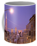 City At Night, San Francisco Coffee Mug