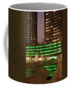 City At Night Urban Abstract Coffee Mug