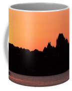 City At Sunset, Chateau Frontenac Coffee Mug