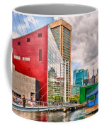 City - Baltimore Md - Harbor Place - Future City  Coffee Mug