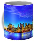City Blue Coffee Mug
