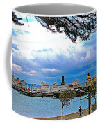 City By The Bay In San Francisco-california  Coffee Mug