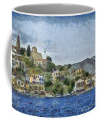 City By The Sea Coffee Mug by Ayse Deniz
