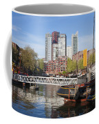 City Centre Of Rotterdam In Netherlands Coffee Mug