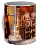 City - Chairs - Red Coffee Mug