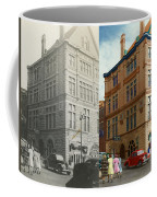 City - Chattanooga Tn - 1943 - The Masonic Temple - Both Coffee Mug