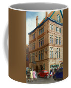 City - Chattanooga Tn - 1943 - The Masonic Temple Coffee Mug by Mike Savad