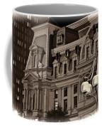 City Hall At Night Closeup Coffee Mug