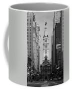 City Hall B/w Coffee Mug