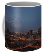 City Lights At Dawn Coffee Mug
