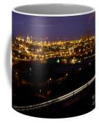 City Lights At Night Coffee Mug