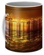 City Lights Peoria Il Coffee Mug