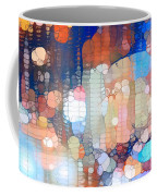 City Lights Urban Abstract Coffee Mug