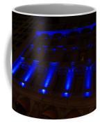 City Night Walks - Blue Highlights Facade Coffee Mug