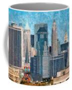 City - Ny - A Touch Of The City Coffee Mug