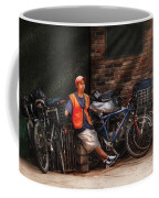 City - Ny - Waiting For The Next Delivery Coffee Mug